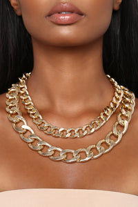 Make A Chain Necklace - Gold