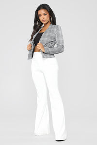 Not So Serious Blazer - Grey