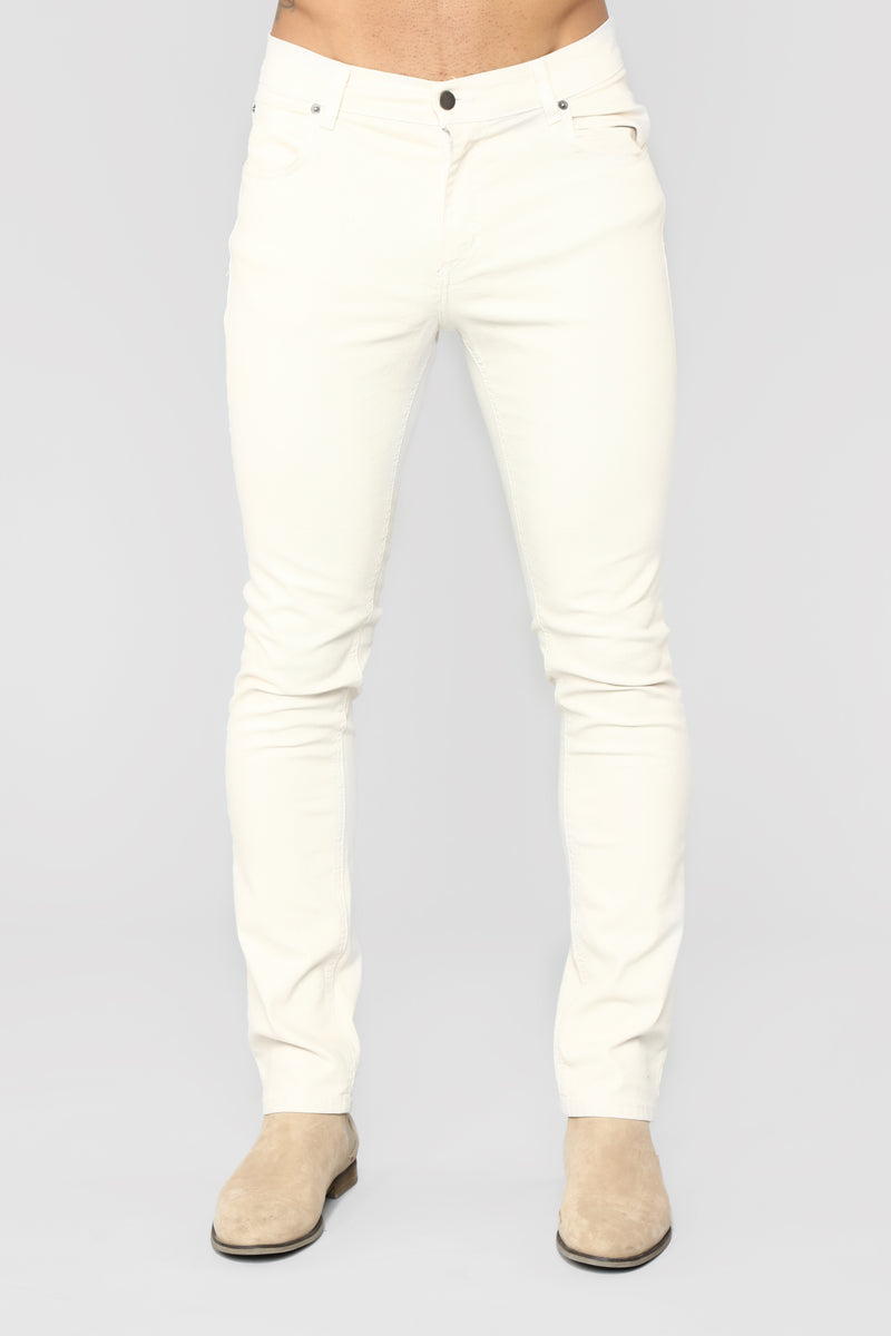 Marko Slim Jeans - Cream
