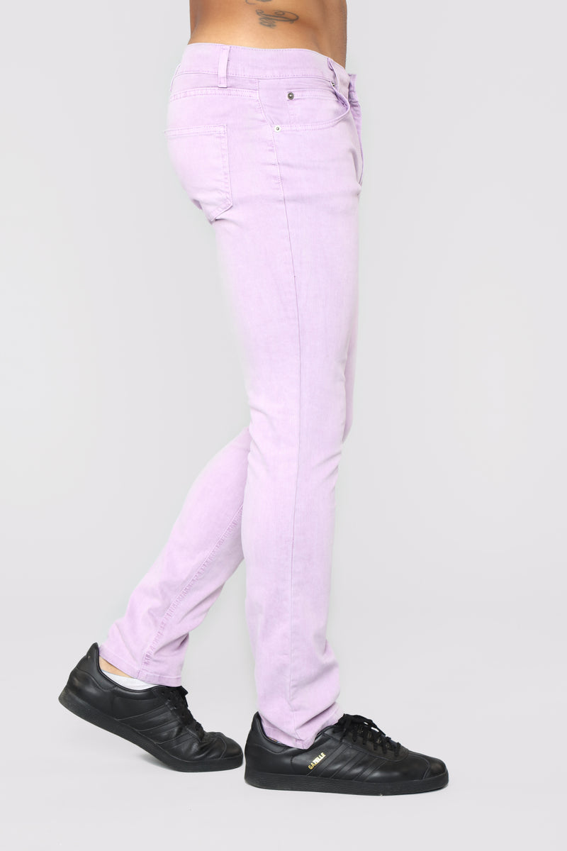 Marko Slim Jeans - Purple