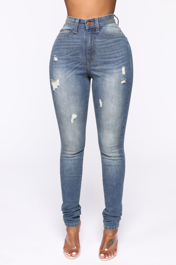 f839bfde78e Give Me All Of You Jeans - Medium Blue