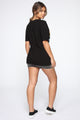 Vision Of Us Tunic Top - Black