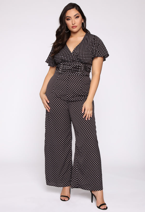 b5486f3eb86a7 A Forever Love Jumpsuit - Black Combo