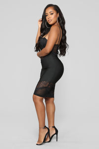 No Stoppin' Desire Bandage Dress - Black Angle 3