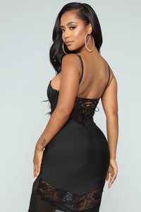 No Stoppin' Desire Bandage Dress - Black Angle 5