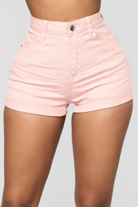 Sunshine High Rise Short - Pink