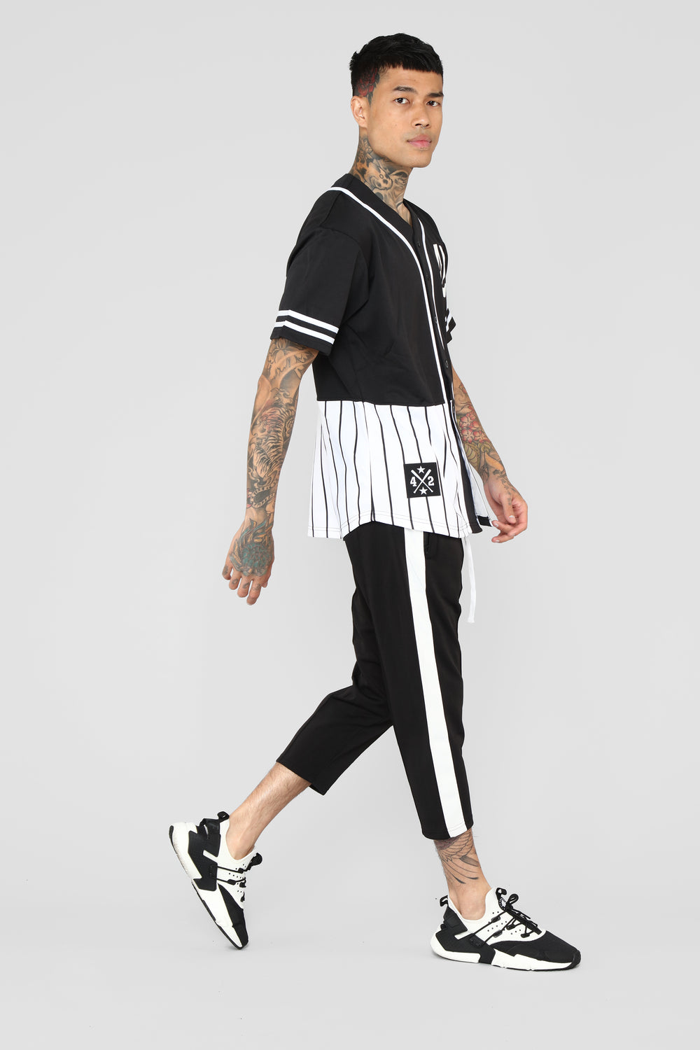 Timber Crop Pant - Black/Combo