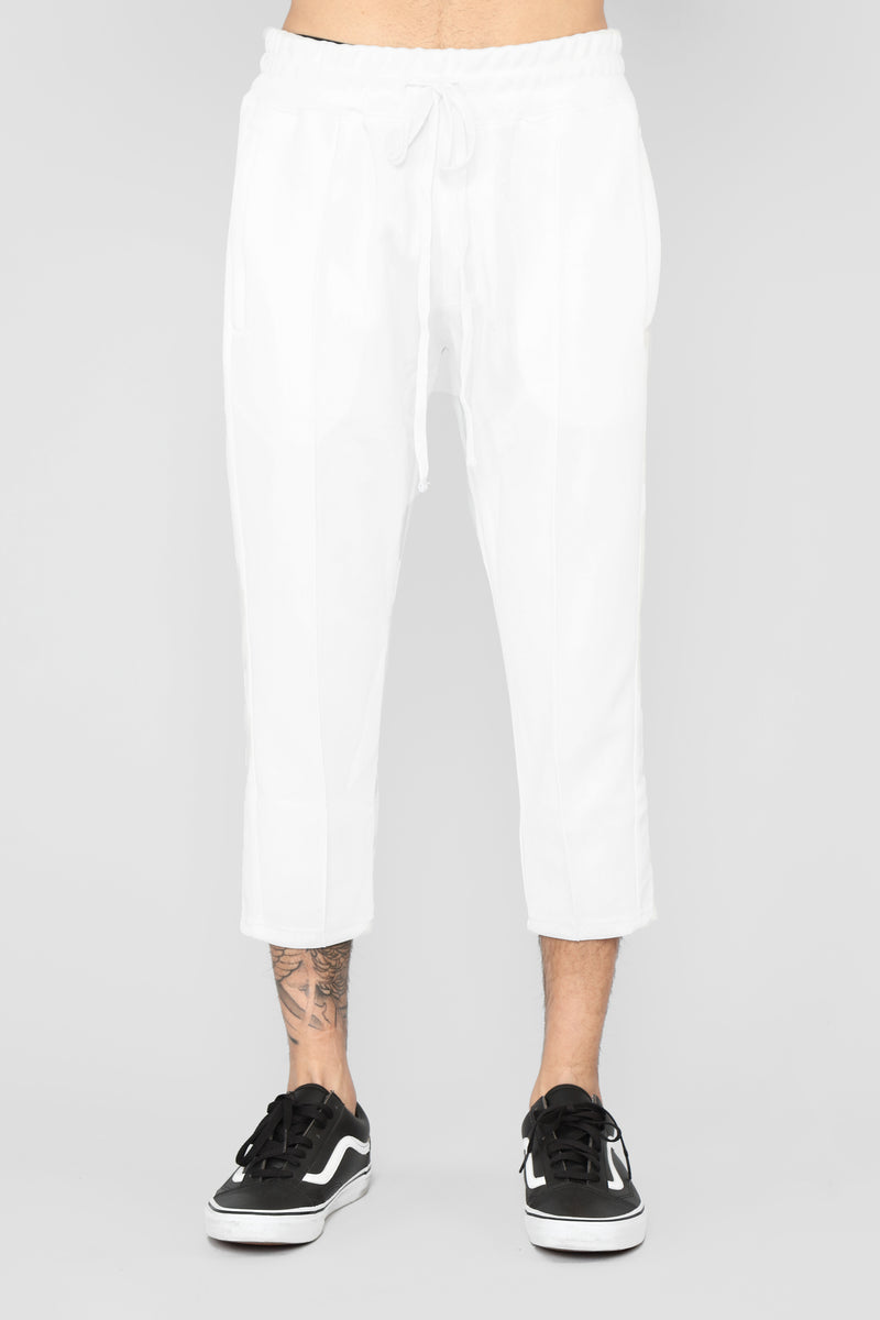 Timber Crop Pant - White/Combo