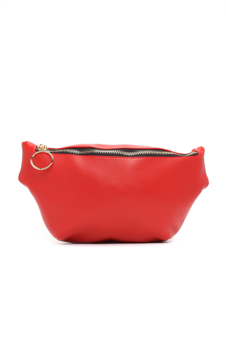 Eyes On My Fanny Pack - Red
