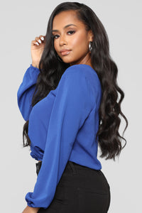 Strappy Intentions Top - Royal