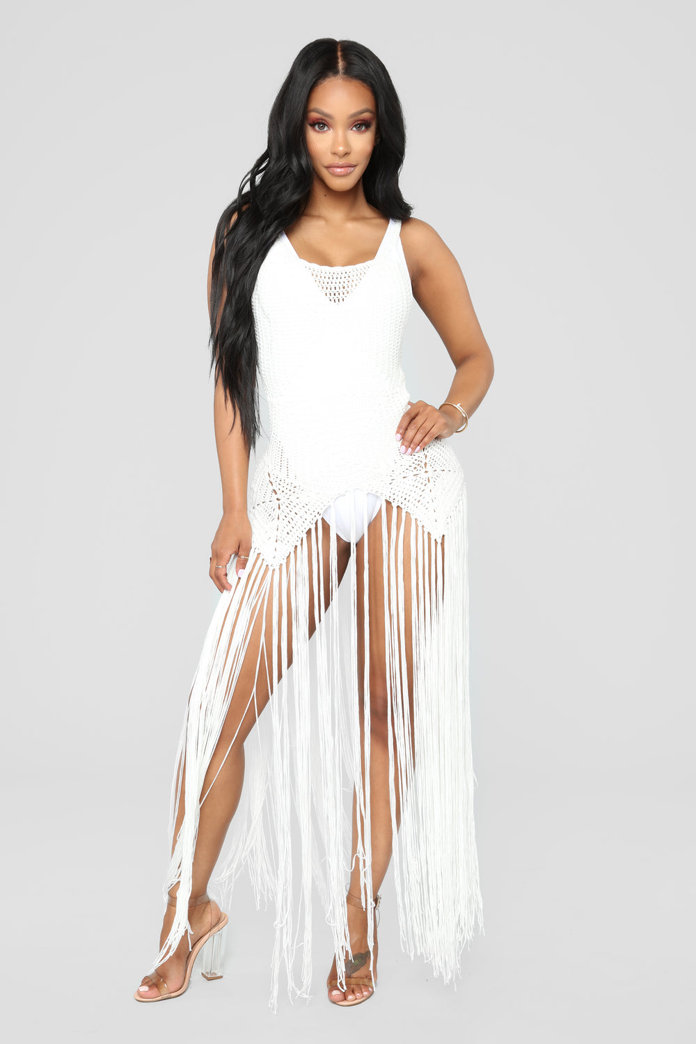 Can't Stop Desire Cover-Up Dress - Ivory