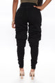 Love On Hold Stacked Jeans - Black