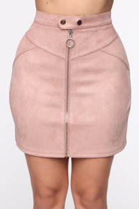 Persuede Me Mini Skirt - Camel