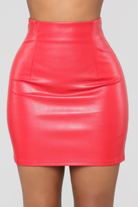 Buy Me A Drink Skirt - Red