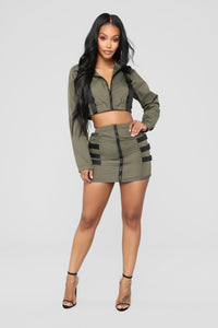 Babygirl Flight Set - Olive