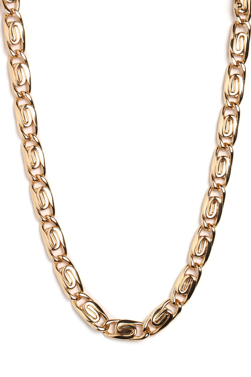 Got You Spinning Necklace - Gold