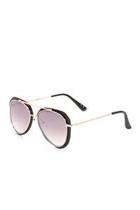 Don't Fall For Me Sunglasses - Black Gold