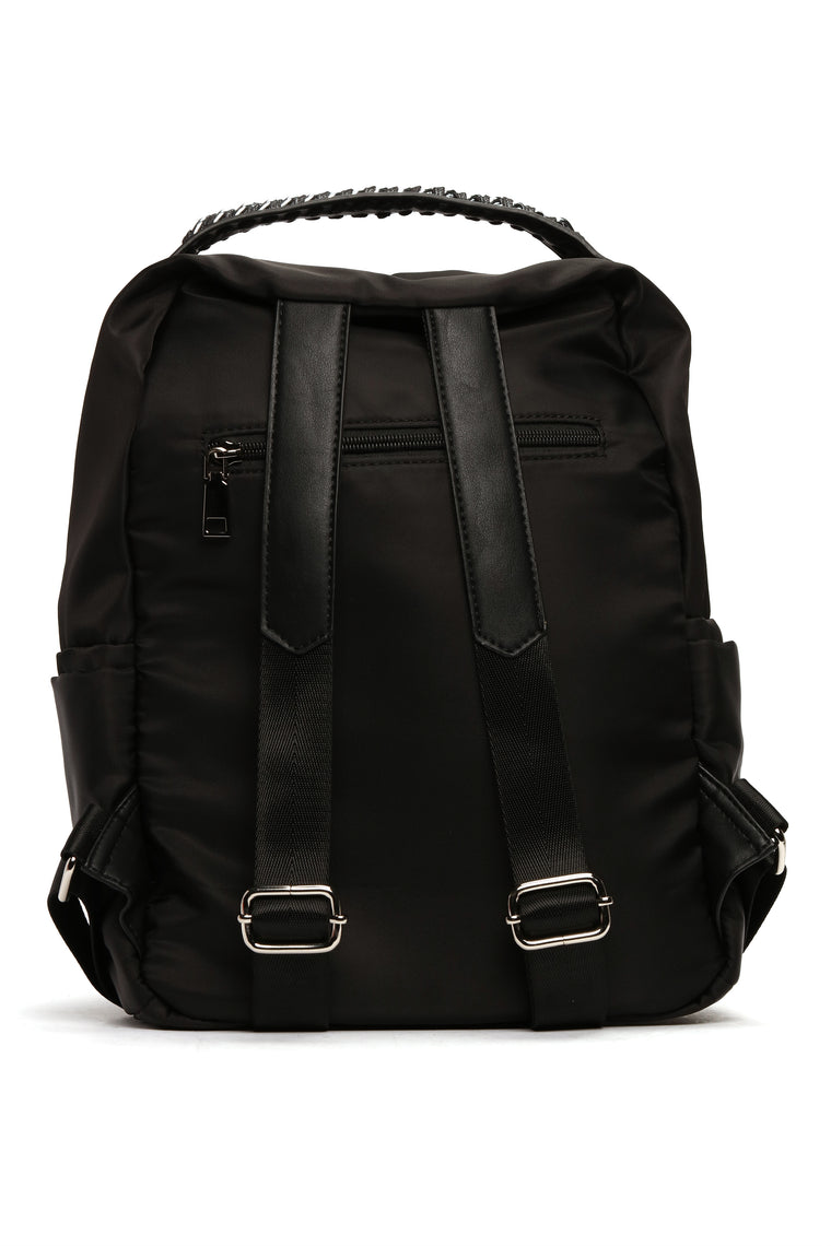 Chain Backpack - Black