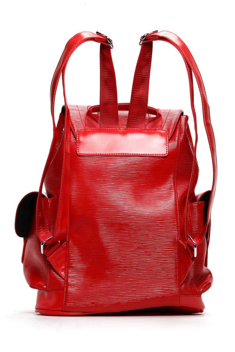 Polished Backpack - Red