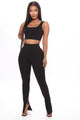 Like New Legging Set  - Black