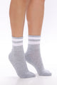 Soft And Neutral Crew Socks - Pink/combo