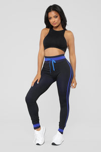 Make It Happen Ombre Jogger - Royal