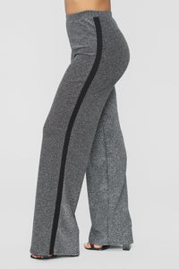 Not Yours Pant Set - Silver