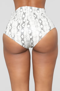 Natasa Micro Shorts - White