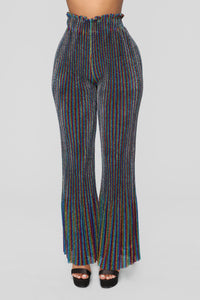 Make Me Feel Flare Pants - Multi