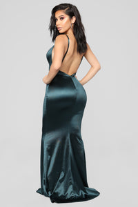 Taken By Her Beauty Mermaid Dress - Teal