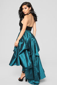 The Queen Is Here Maxi Skirt - Hunter Green