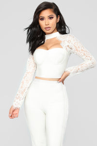 Banded In Love Bandage Set - Off White