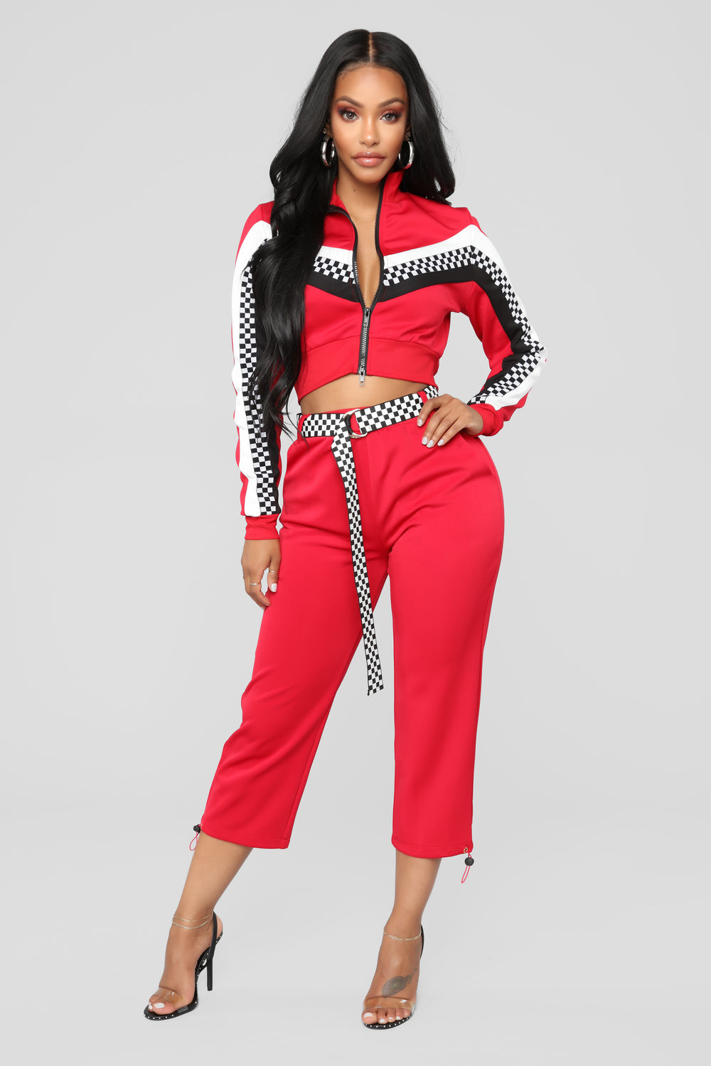 Play It Cool Lounge Set - Red