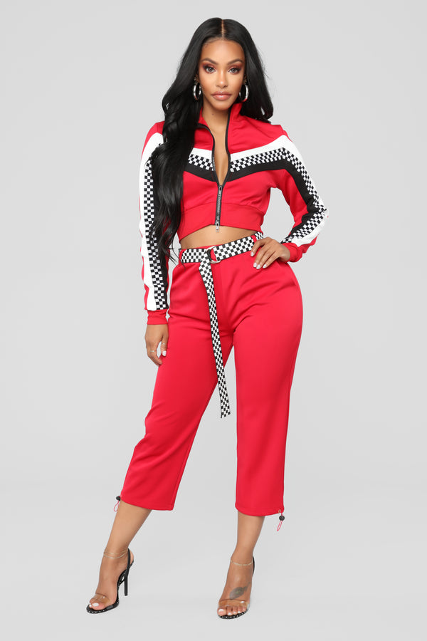 ec87d5182 Play It Cool Lounge Set - Red