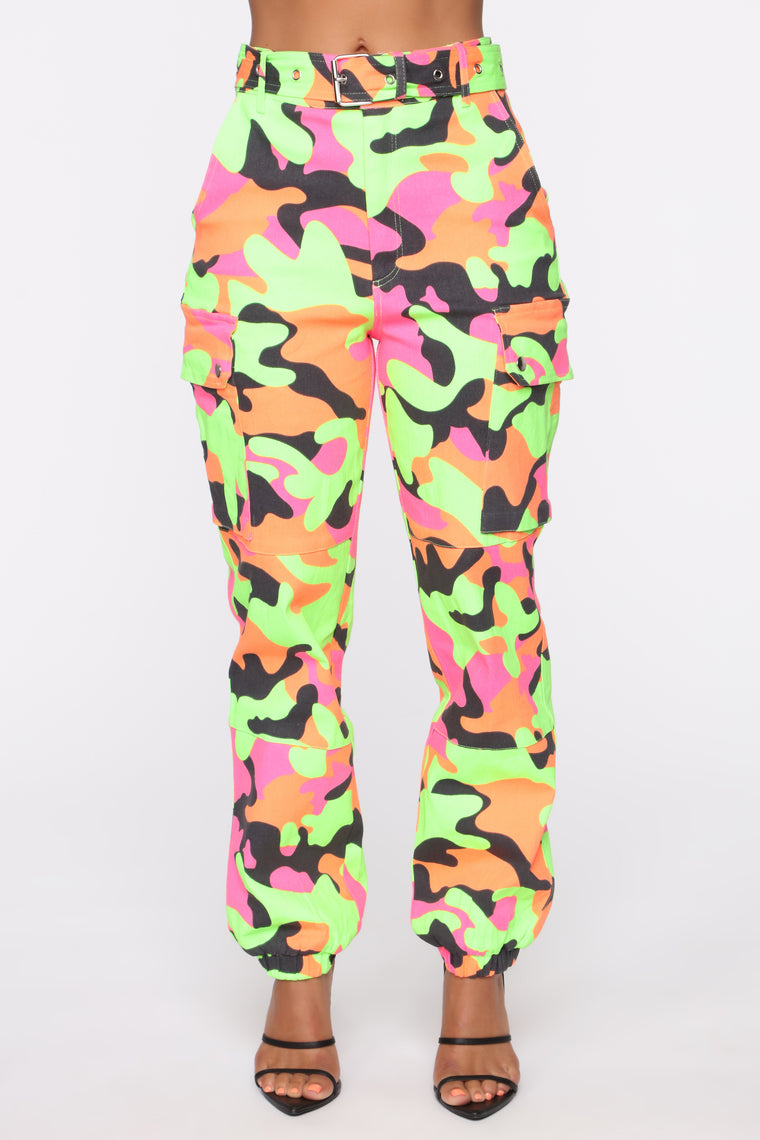 Blend In Cargo Joggers - Multi Color