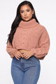 Never Going Back Sweater - Peach