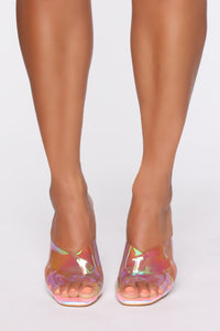Searching For You Heeled Sandal - Hologram