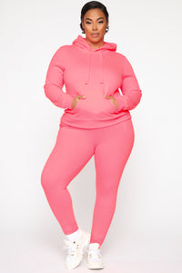 Relaxed Vibe Jogger II - Neon Pink Angle 6