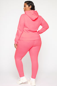Relaxed Vibe Jogger II - Neon Pink Angle 10