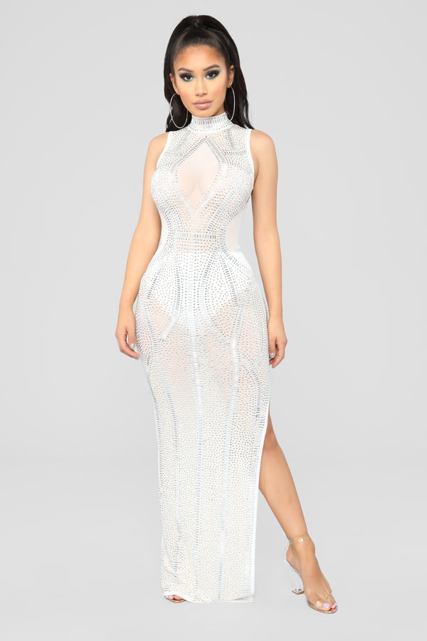 f968fa8022022 Award Winning Dress - White