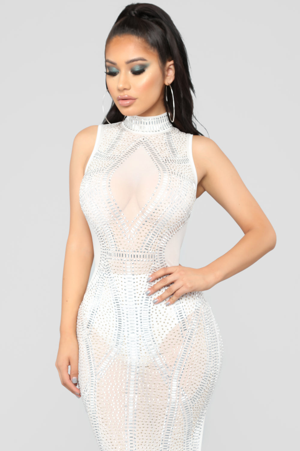 Award Winning Dress - White