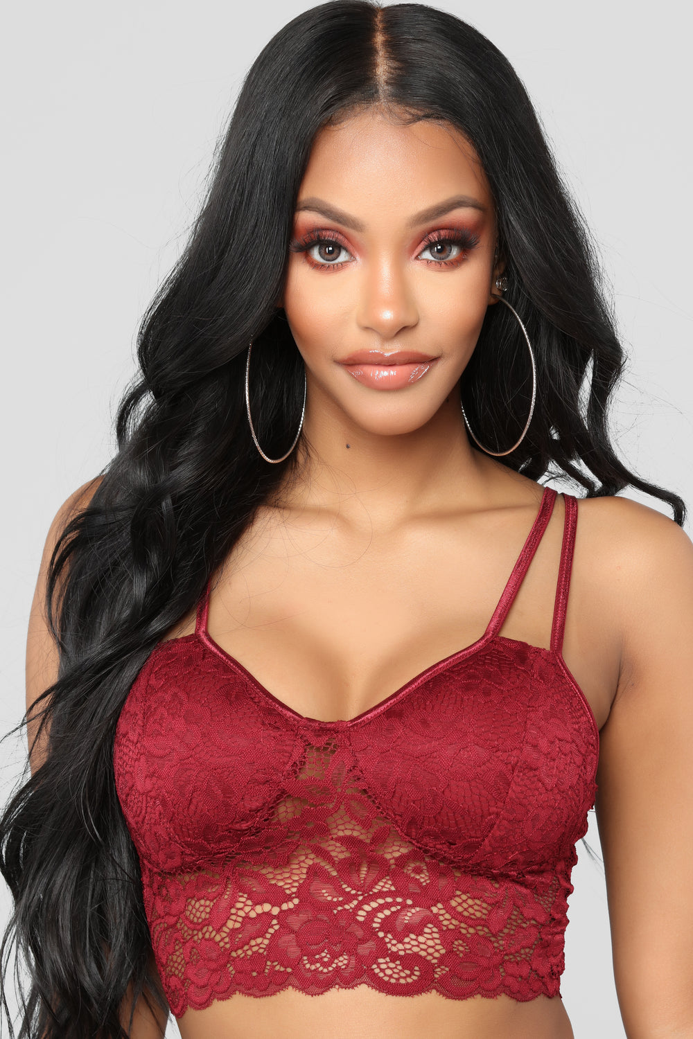 Pay Dates Bralette - Burgundy