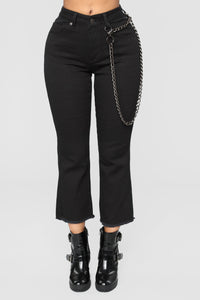 That Girl Ankle Jeans - Black