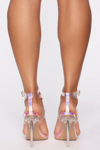 Refuse To Let Go Heeled Sandals - Multi