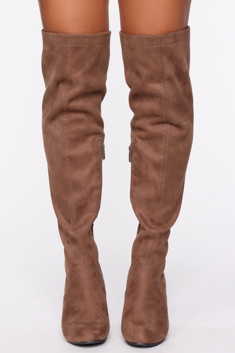 Vonnie Boot - Taupe