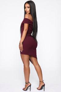 Do Or Die Dress - Plum