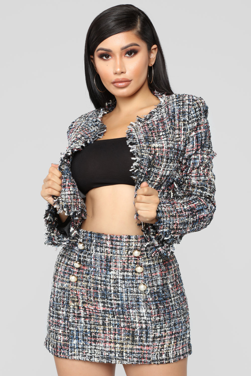 Not Sure About You Jacket - Black