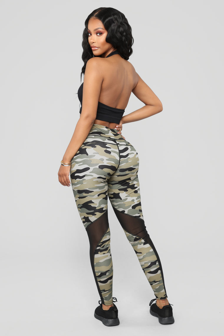Kelsie Active Leggings - Grey