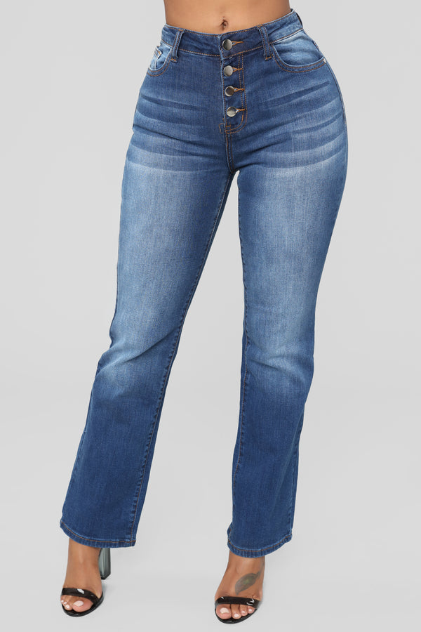 fdb43c32bb Alexa Straight Leg Jeans - Dark Denim