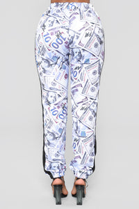 Throw Some More Print Joggers - Multi